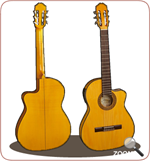 MADRIGAL GUITAR 91F EQ SOLID SPRUCE CONSERVATORIO
