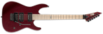 ESP LTD  M-400 MAPLE/DUNCANS DEEP RED METALLIC