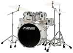 "SONOR  AQ 1 STAGE  SET  PIANO WHITE  "" NYHED"""